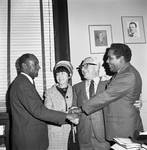 NJ  State Assembly member Paul Policastro with Assembly members Ronald Owens and George C. Richardson