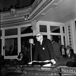 NJ state senator Joseph J. Maraziti speaks in the Senate Chamber