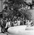 NJ state senator Joseph J. Maraziti and young visitors to the state capitol