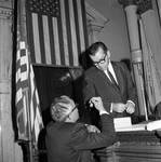 NJ state assembly speaker Frederick Hausser