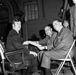 NJ Assemblyman Carl Orechio at work with other legislators