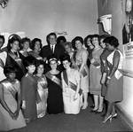 NJ Governor Richard Hughes and women from the Joseph Cohen Civic Association