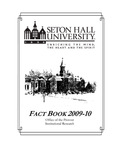 Fact Book 2009-2010 by Office of Institutional Research, Seton Hall University