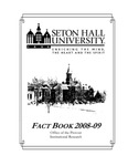 Fact Book 2008-2009 by Office of Institutional Research, Seton Hall University