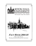 Fact Book 2004-2005 by Office of Institutional Research, Seton Hall University