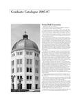 Graduate Catalogue 2005-2007