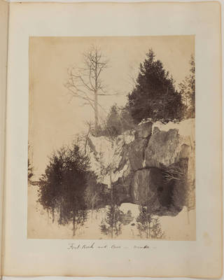 Fort-Rock and Cave; winter