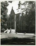 Front view (undated) of President's Hall