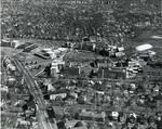 Aerial view Seton Hall, South Orange campus