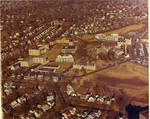 Aerial view of Seton Hall, South Orange campus