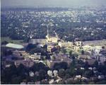 Aerial view of Seton Hall University