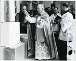 Blessing of cornerstone and ceremony of Bishop Dougherty Student Center