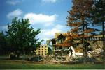 Destruction of McLaughlin Library