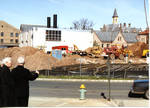 Construction for Walsh Library