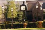 Clock at Walsh Library