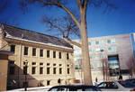 Campus views of winter at SHU
