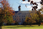 Mooney Hall in fall