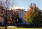 Boland Hall in fall