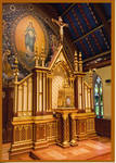 Tabernacle, Dedication of Renovation in the Immaculate Conception Chapel