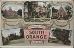 Greetings from South Orange, N.J. postcard